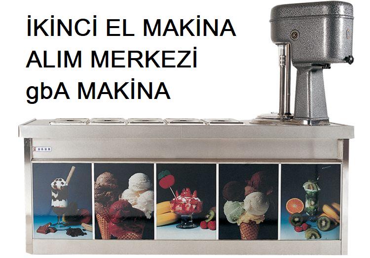 ikinci el ugur l40 dondurma makinasi