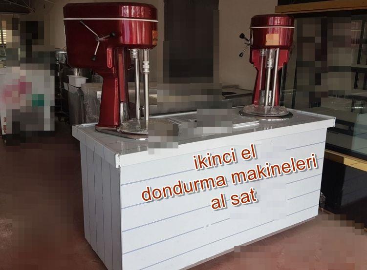 ikinci el dondurma makinasi gaziantep
