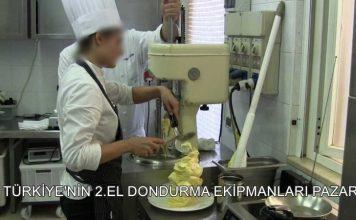 2.El Dondurma Makinesi Pazarı